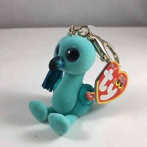 NEW 2020 TY Beanie Boos Mini Boo Collectible Metal Key Clip WILLIAM the Flamingo