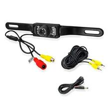 Waterproof Car Rear View Reverse Backup Camera License Plate Night Vision 7X LED