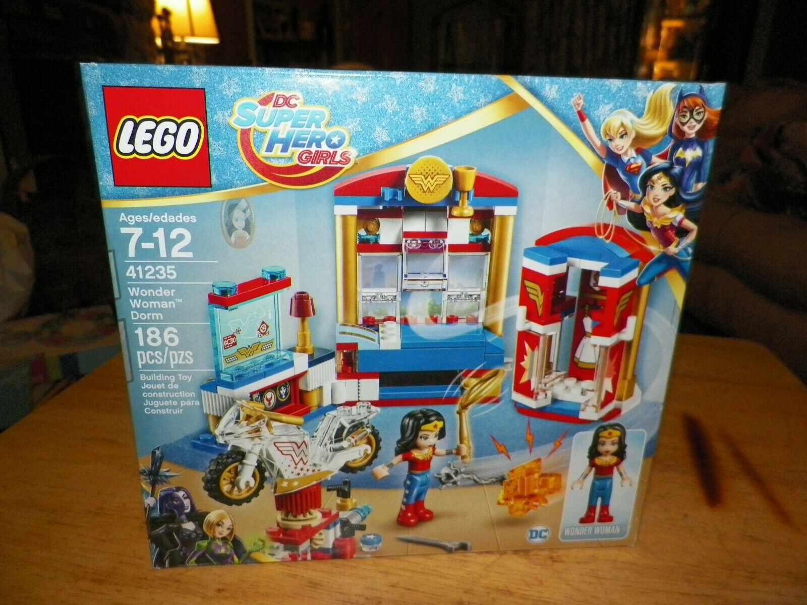 Genuine Minifig from Set 41235 Doll Wonder Woman LEGO Minifigure with Lasso