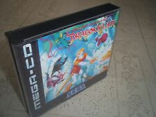 DRAGONS LAIR.SEGA MEGA CD PAL .REPLACEMENT CASE+INLAYS ONLY.NO GAME