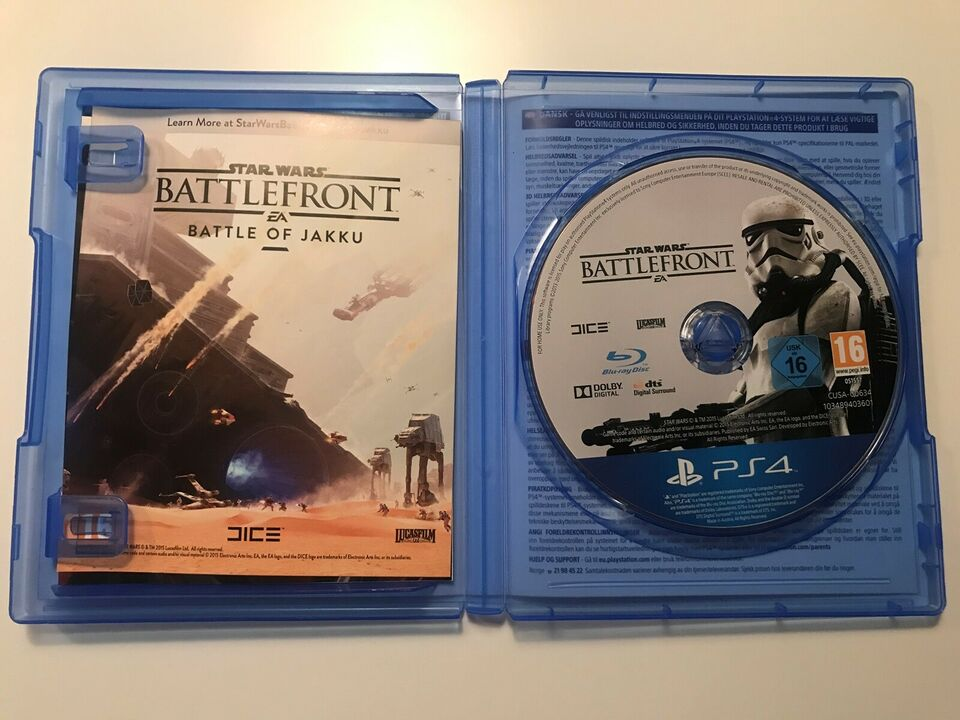 Battlefront, PS4