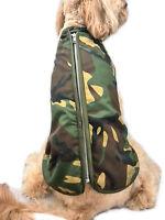Doggie Coats Camouflage Camo Step-In Fur Lined Waterproof Dog Coat Jacket