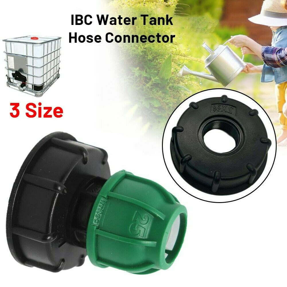 Water IBC Tank Adapter Garden Hose Adapter Tap Connector Fitting Tool Parts New