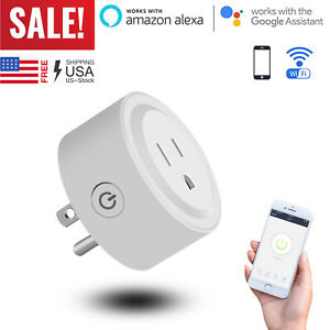 Details about Wifi Smart Plug Outlet Socket Adapter Switch For Android IOS  Google Home Alexa