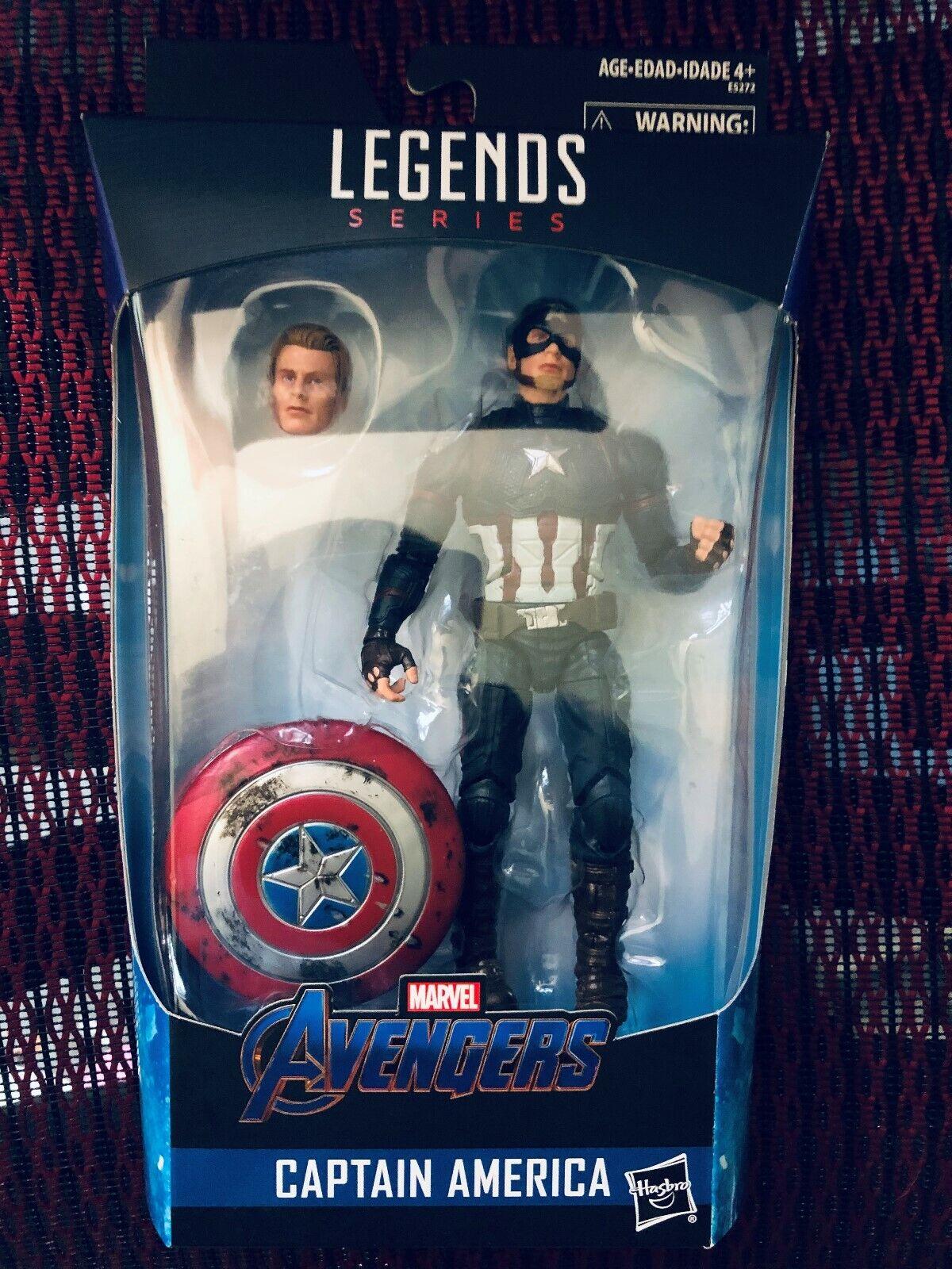 Marvel Legends Avengers  Endgame Worthy Captain America  Walmart Exclusive  meilleure offre
