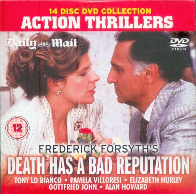ACTION THRILLER = DEATH HAS A BAD REPUTATION star PAMELA VILLORESI = PROMO VGC