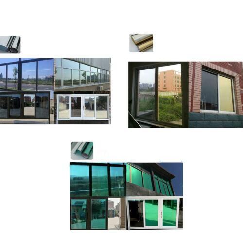 Reflective Window Film Insulation Window Mirror Stickers UV Reflective 0066