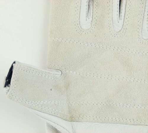 M 8 fingerlos Leder Rigging Montage PROFI Rigger Gloves Roadie Handschuhe Gr