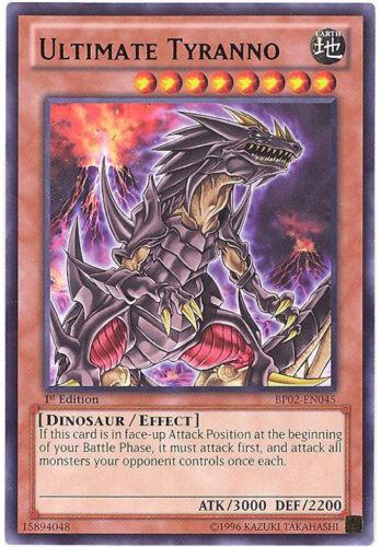 Yu-Gi-Oh Card ULTIMATE TYRANNO BP02-EN045 - NM//Mint rare