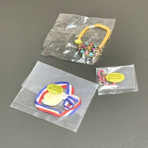 """3x New Medals /& necklace Accessories For 18/"""" American Girl doll Toy Xmas gift H5"""