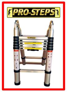 Escalera-telescopica-3-8-mtrs-A-Type-marca-Pro-Steps-PSTA38