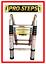 Escalera-telescopica-3-8-mtrs-A-Type-marca-Pro-Steps-PSTA38 miniatura 1