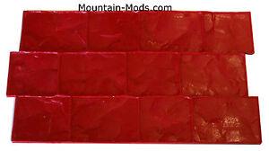 London-Cobble-Stone-Rigid-imprint-Texture-Decorative-Concrete-Cement-Stamp-Mat