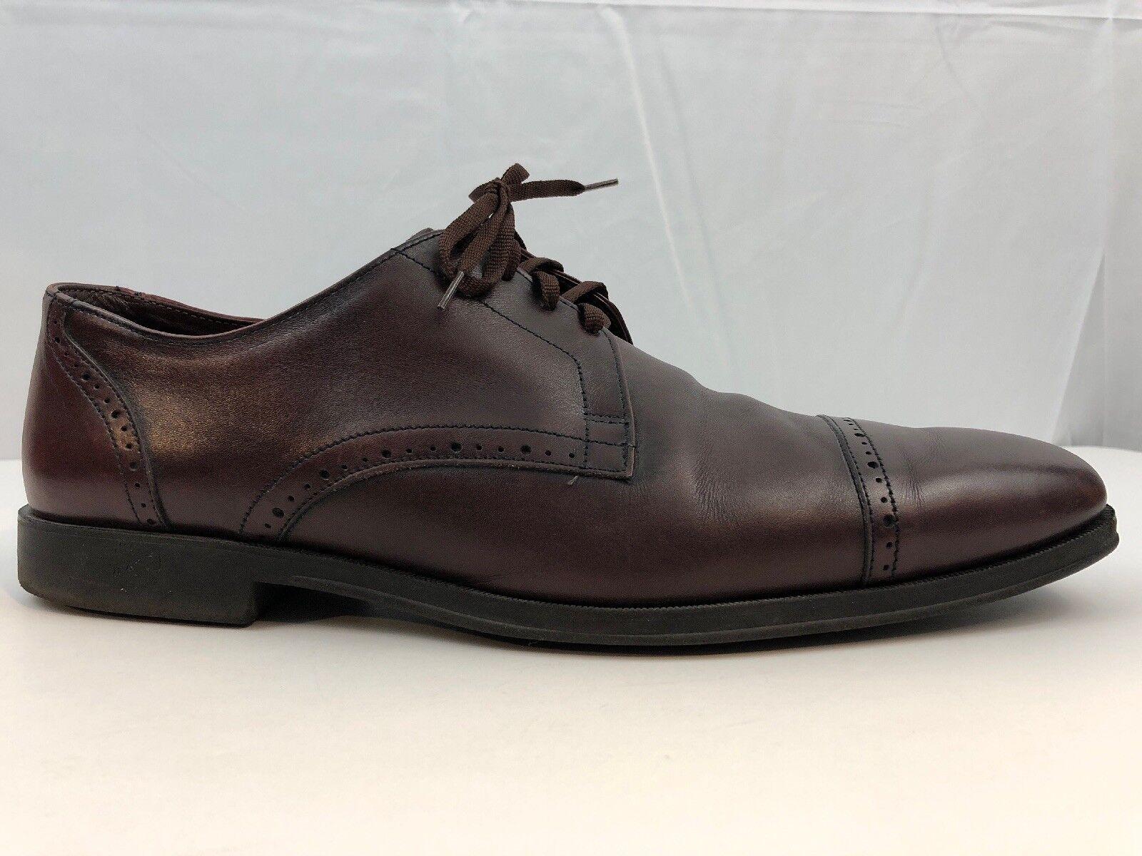 Allen Edmonds Mens Back Bay 70508 Cap Toe Oxfords Dress Formal chaussures Taille 13 D