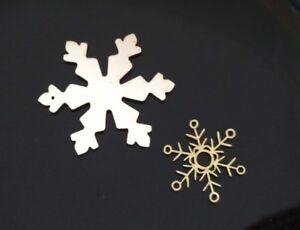 Details Zu 2 Holzfiguren Schneestern Schneeflocke Filigran Deko Basteln Baumschmuck X Mas