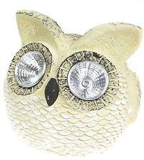 Novelty LED Solar Powered Owl Ornament Outdoor Garden Light Animal Lighting