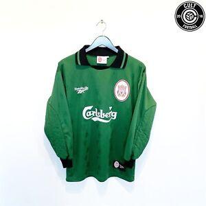 1996/97 LIVERPOOL Vintage Reebok Home GK Football Shirt Jersey (S) James Era