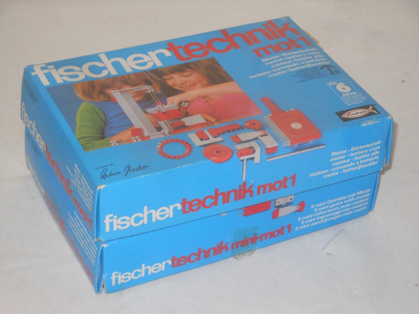 Fischertechnik Lot Sets - mot.1 Motor + Mini - Mot 1 Minimotor + Engranaje - L37