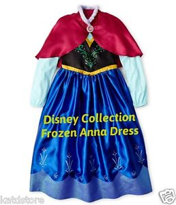 Image is loading Disney-Collection-Frozen-Princess-Anna-Costume-Dress-SZ-  sc 1 st  eBay & Disney Collection Frozen Princess Anna Costume Dress SZ 3 4 5-67 ...
