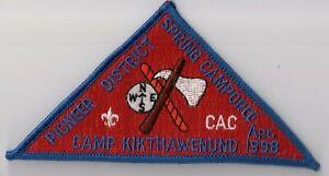 Felt Camp Kikthawenund 1981 AC BSA Crossroads of America Council Indiana