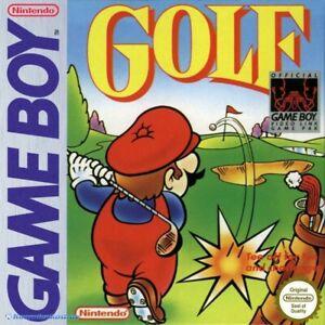 Nintendo-GameBoy-Spiel-Golf-Mario-Golf-mit-OVP