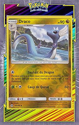 Pokemon akwakwak card 29//149 rare reverse sun and moon 1 sl1 fr new