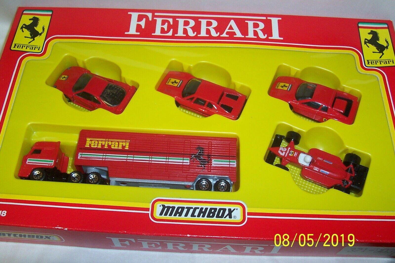 Matchbox Superfast - Ferrari Set - MC-18 - Excellent Condition - 1990 - (RARE)..