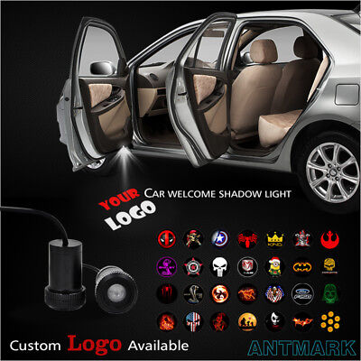 2 Pcs Led Car Door Welcome Light Welcome Lamp Logo Symbol Laser Projector Lights Ghost Shadow Light For Jaguar S Type Svr Xfr Xf Xkr F-Type Xe Xj-S Sportbrake 2000 Xk8 All Models