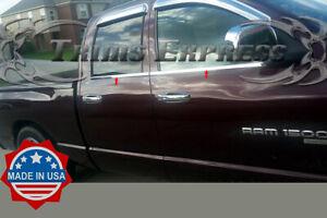 fit-2004-2008-Dodge-Ram-Quad-Cab-Crew-Cab-4Pc-Window-Sill-Trim-Accent