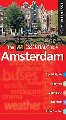 """""""AS NEW"""" AA Essential Amsterdam (AA Essential Guide), McDonald, George, Book"""