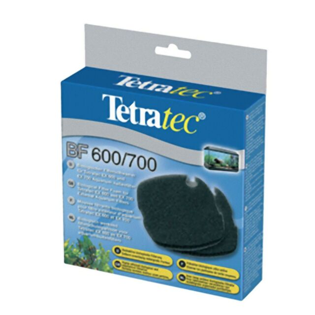 TetraTec BF600 Filter Foam For EX600 Pack of 2 Genuine