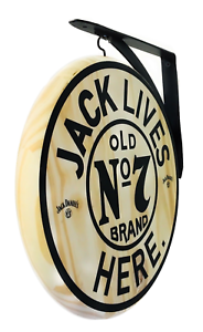 Jack Daniels Sign - 2 faces en bois PUB SIGN-Diamètre 12 in (environ 30.48 cm)-afficher le titre d`origine 3exVDiCw-09090357-349435645