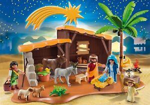 Playmobil-Navidad-Ref-5588-Portal-Belen-con-Establo-Nacimiento-Pastor-NUEVO