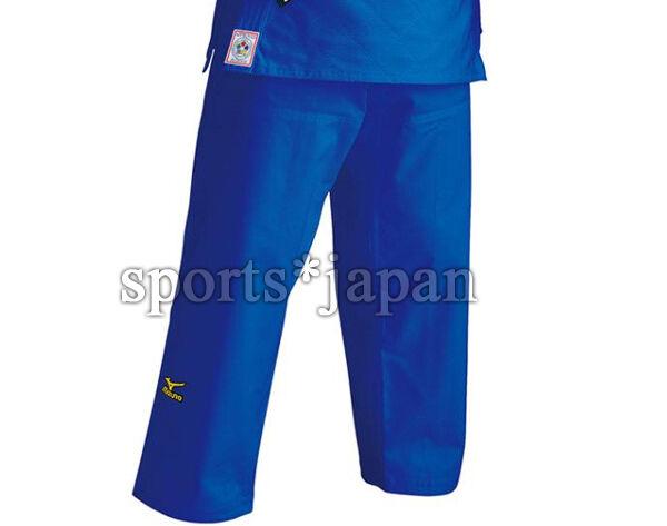 Mizuno JAPAN Judo gi blueee Pants Judogi 2017 IJF Official Approved 22JP6A2027