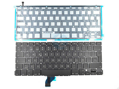 """NEW Spanish Keyboard with Backlight for Macbook Pro A1502 13/"""" 2013 2014 2015"""