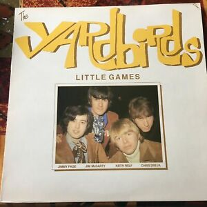 THE YARDBIRDS ~ Little Games ~ 1985 UK 16-track vinyl LP ~ NEAR MINT THROUGHOUT!
