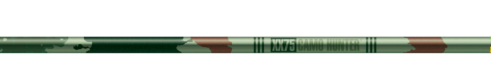 12 - Easton XX75 Camo Hunter 2413 Aluminum Shafts