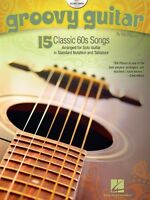 Groovy Guitar Sheet Music 15 Classic '60 Songs Guitar Solo Book And Cd 000701215