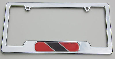 My Heart Belongs To Trinidad And Tobago License Plate Frame Tag Holder