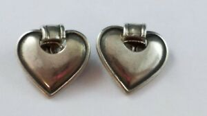 6fb00b1f9 Image is loading RARE-RETIRED-James-Avery-Dangle-Heart-Sterling-Silver-