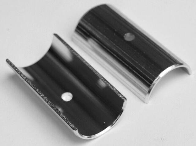 Bicycle Handlebar//Stem Shim 22.2mm to 25.4mm Aluminum Adapter 22.2 25.4 Black
