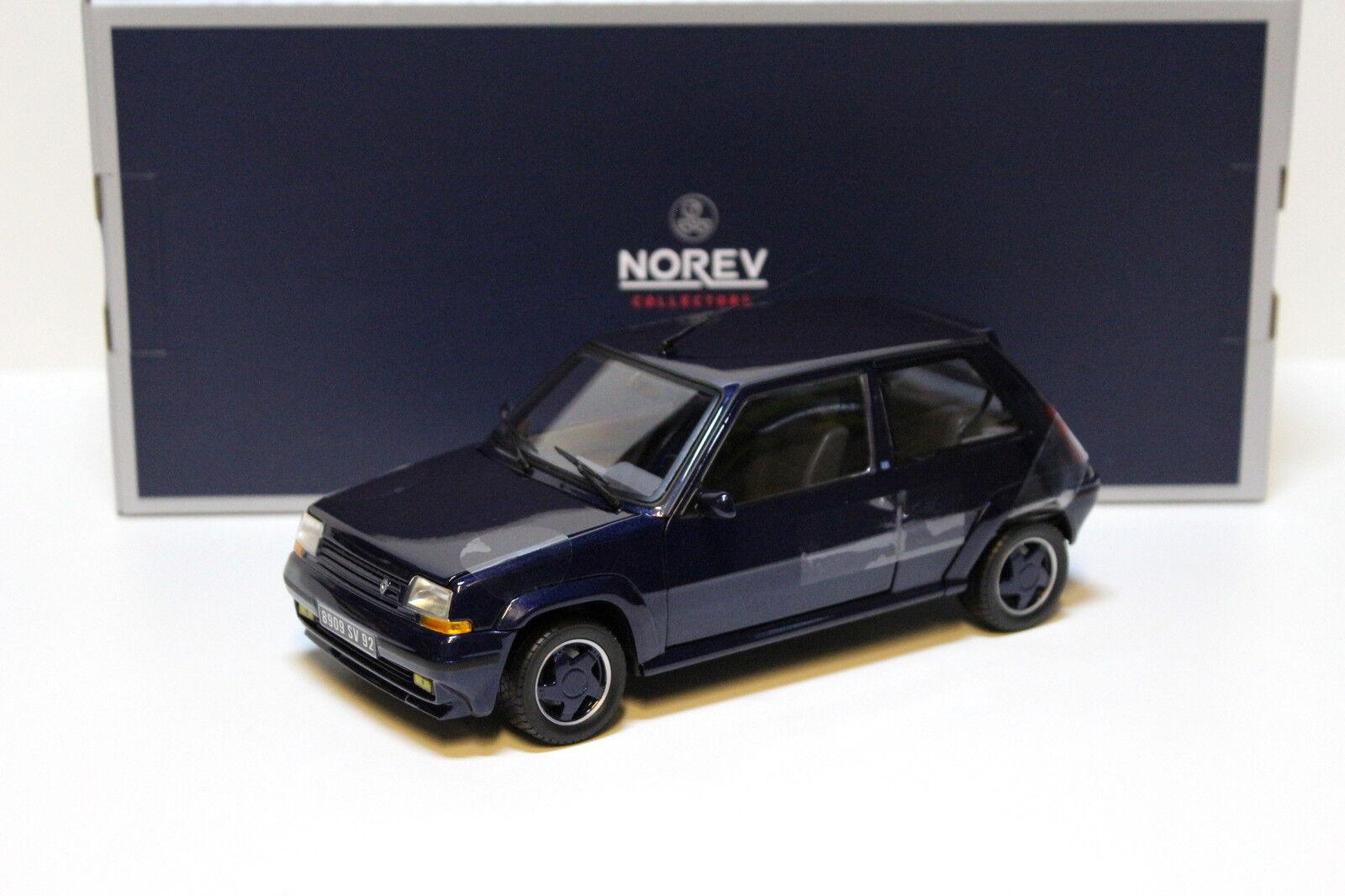 Envio gratis en todas las ordenes 1 18 norev renault súpercinq súpercinq súpercinq GT Turbo 1989-azul New en Premium-modelCoches  marcas en línea venta barata
