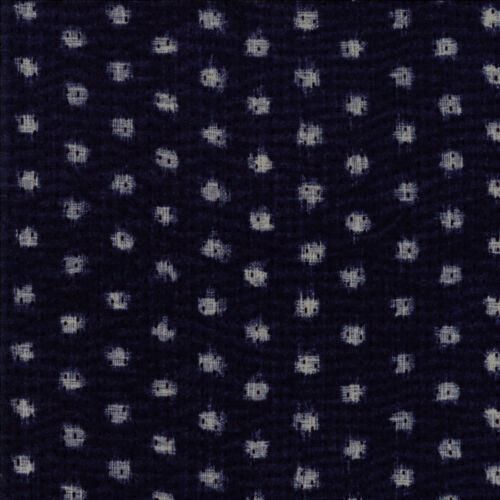 Moda tessuto BORO sodenaski Indigo Dark Blue-Per 1//4 METRI