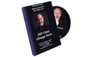 Psy Color Change Deck by Kenton Knepper - DVD