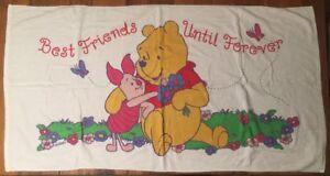 Image Is Loading Vintage Winnie The Pooh Piglet Beach Towel Best