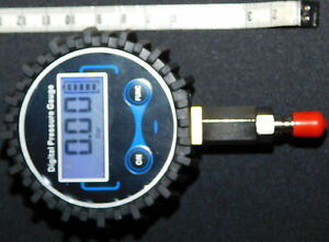 Digital Mitteldrucktester - Mitteldruckprüfer - Mitteldruckmanometer & Schutzbox