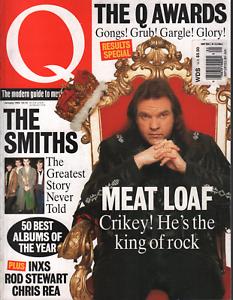 Q UK Magazine January 1994 Meat Loaf INXS Rod Steward Chris Rea 072020AME