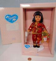 Vogue Chinese Ginny Asian Girl Doll Lantern Kimono Jacket Brush Comb Stand