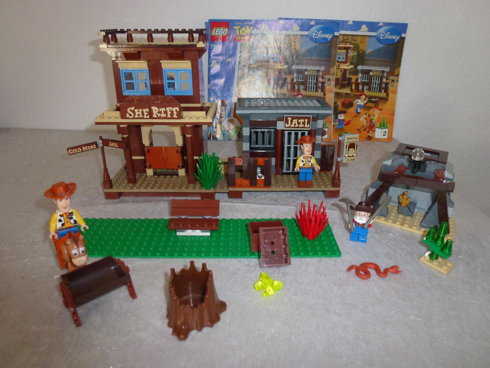 Lego Toy Stry 7594 Blatt 1 + 2  + OBA Rarität      UVM
