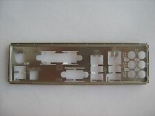 M4A77D ASUS motherboard I/O Shield Original Backplate M4A77 N4A77TD